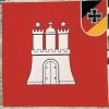 Reservistenfahne Wappenseite